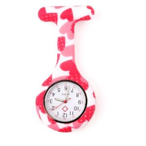 nurse watch silicone butterfly magic strawberry