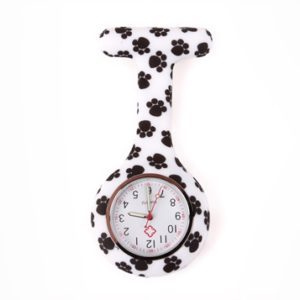 nurse watch silicone butterfly magic autumn color dog paw