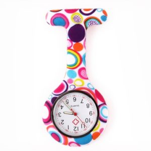 nurse watch silicone butterfly magic circles