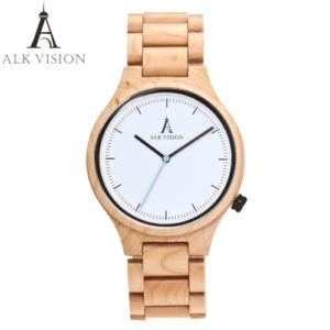 maple wooden watch men