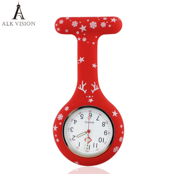 Christmas gift silicone nurse watch for nurse doctor