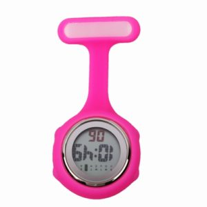 digital watch fob pocket silicone watch watch for nurse doctors medical gift